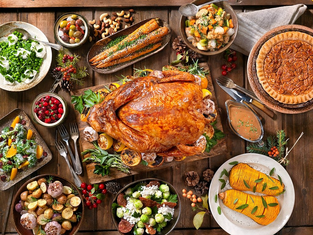 Thanksgiving turkey holiday dinner