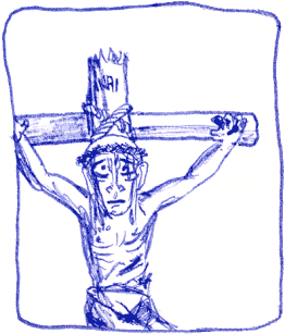 (crucified)