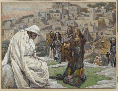 Jesus Weeping by Tissot