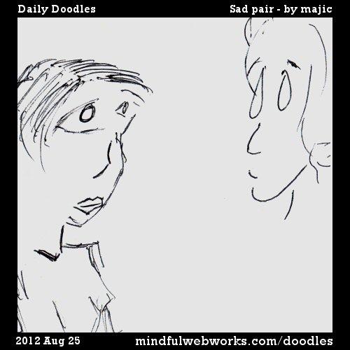 Sad Pair -- by Majic