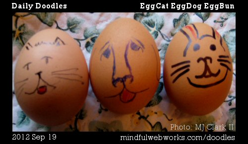 EggCat EggDog EggBun