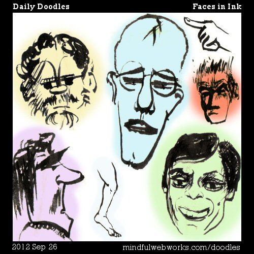 Faces in Ink