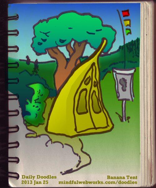 Banana Tent