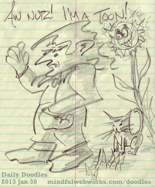 Aw, Nutz! I'm a Toon!
