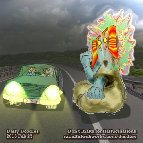 Don't Brake for Hallucinations