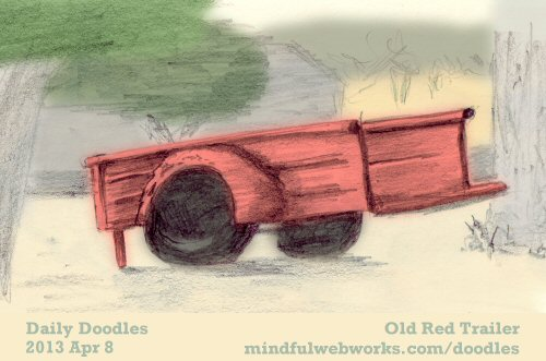 Old Red Trailer