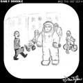 Astronaut on Earthwalk
