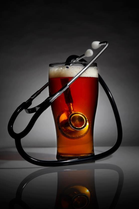 beer and stethescope