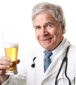 Beer - it's doctor recommended!