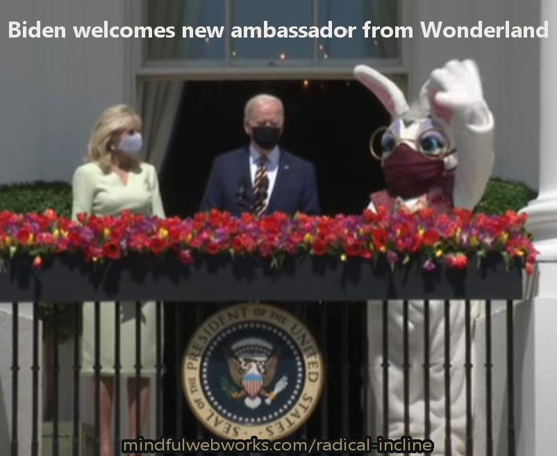 Biden in Wonderland