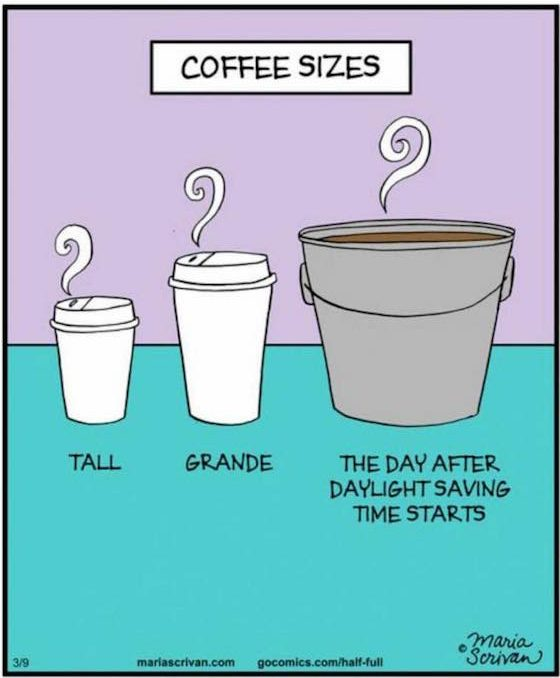 Coffee for DST