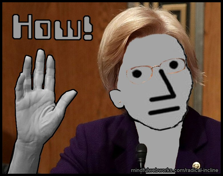 "Chief NPC says ""How!"""