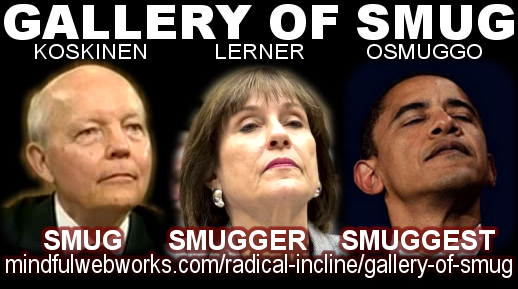 Gallery of Smug, Koskinen, Lerner, Obama