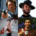 Clint and George