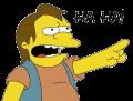 Nelson Muntz: Ha Ha!