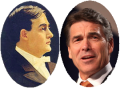 Two Texas Governors