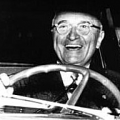 Truman driving