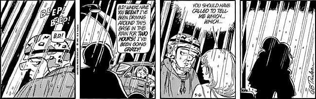 Boopsie comic strip