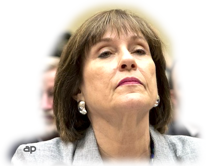 Lois Lerner, nose in air