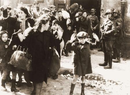 Nazi roundup of Jews