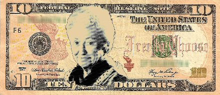 New Ten Dollar Bill with Rose Friedman