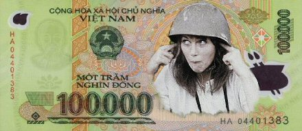 New Vietnam Note: Jane Fonda