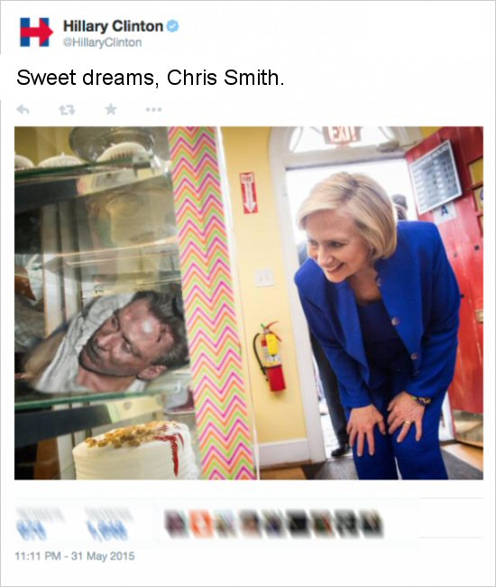 Sweet Dreams, Chris Smith