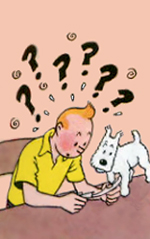 TinTin is Confused