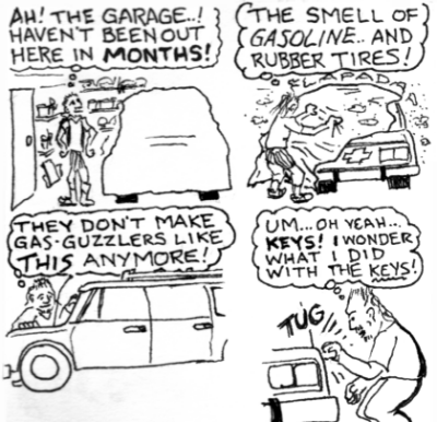 #3: Ah! The garage...!