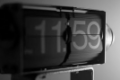 Digital clock 11:59