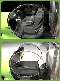 rotating cab
