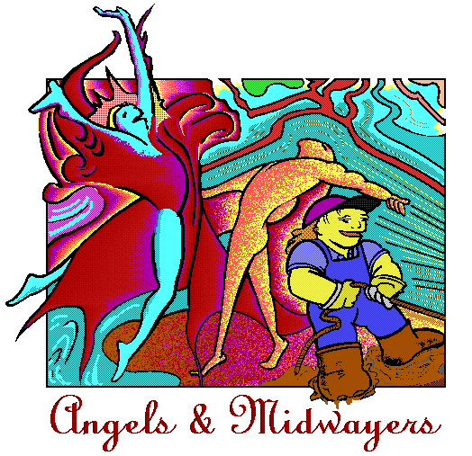 Angel, Midwayer, & Human